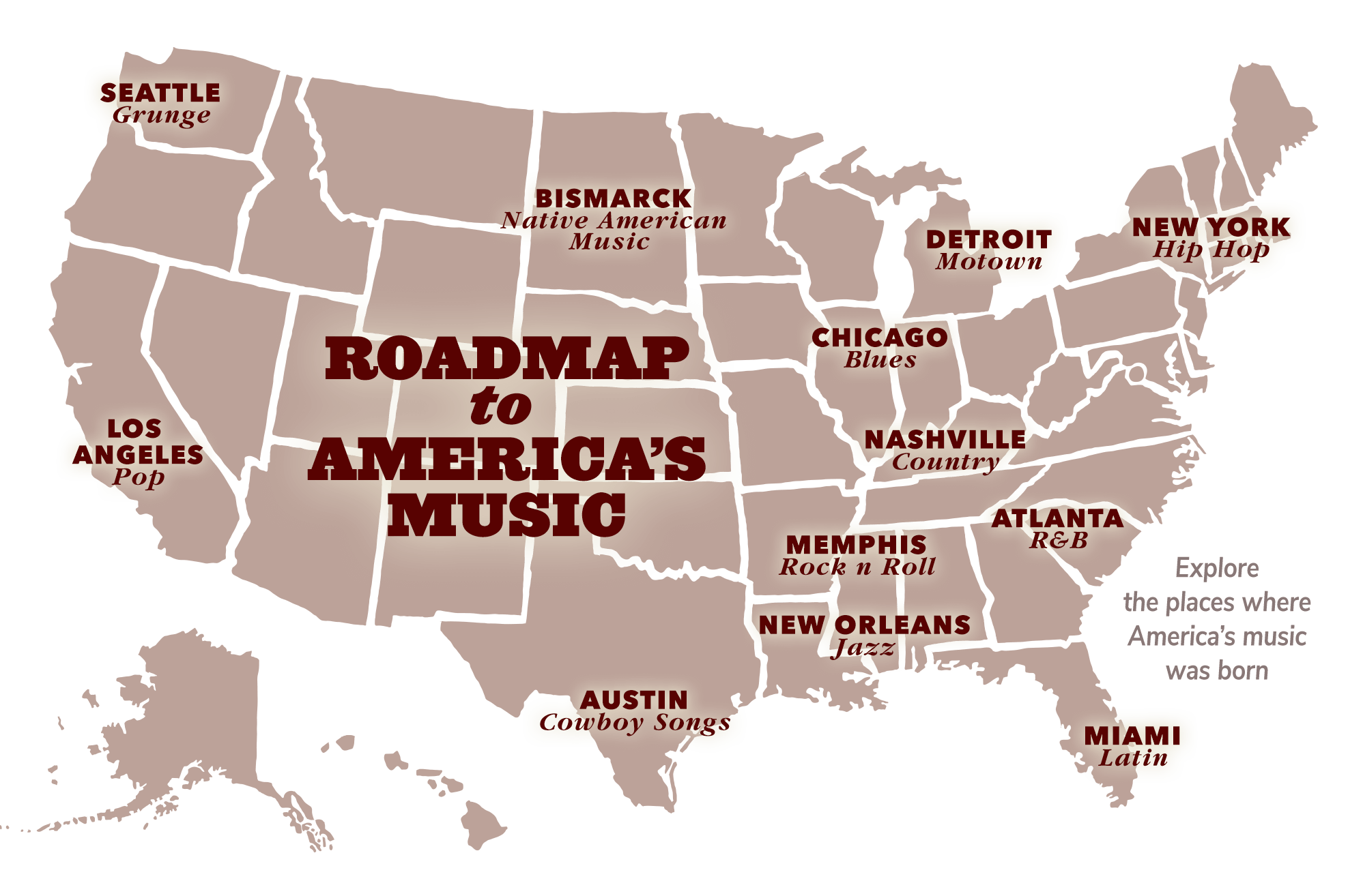 Latin America Map Song.America S Musical Journey A Story Of Culture Creativity And The